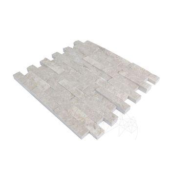 купить Мозаичный мрамор Burdur Beige Scapitata 2,5 x 10 см в Кишинёве
