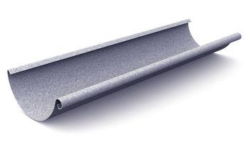 купить Желоб L=4000 mm (125 mm) Al-zn в Кишинёве