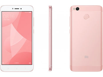 "cumpără 5.0"" Xiaomi RedMi 4X 32GB Pink Gold 3GB RAM, Qualcomm Snapdragon 435 Octa-core 1.4GHz, Adreno 505, DualSIM, 5"" 720x1280 IPS 296 ppi, microSD, 13MP/5MP, LED flash, 4100mAh, FM, WiFi, BT4.2, LTE, Android 6.0.1 (MIUI8), Infrared port, Fingerprint în Chișinău"