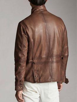Куртка Massimo Dutti Коричневый massimo dutti 3311/241