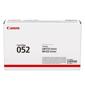 Laser Cartridge Canon 052 (HP ххх X), black (3 100 pages) for LBP-21X Series & MF42X Series