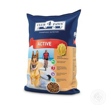 купить Корм сухой Club 4 Paws 1кг для взрослых активных собак в Кишинёве