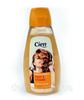 Șampon pentru păr uscat și deteriorat cu papaya Cien Shampoo Fruit&Vitamin 500ml