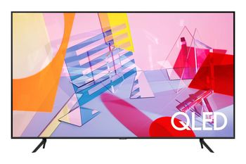 "50"" LED TV Samsung QE50Q60TAUXUA, Black"