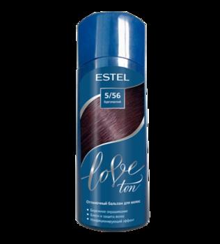 Balsam nuanțător, ESTEL Love Ton, 150 ml., 5/56 - Burgundia