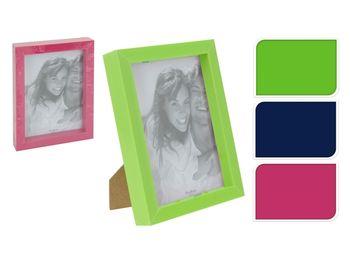 Rama foto din plastic 15X20cm, 3 culori