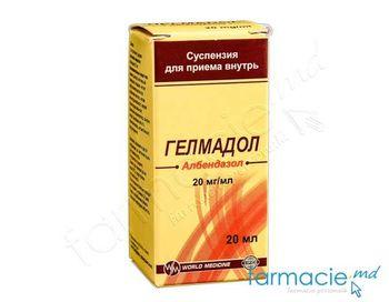 cumpără Helmadol susp. orala 20 mg/ml 20 ml N1 în Chișinău