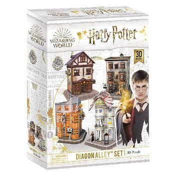 купить CubicFun пазл 3D Harry Potter Diagon Alley в Кишинёве