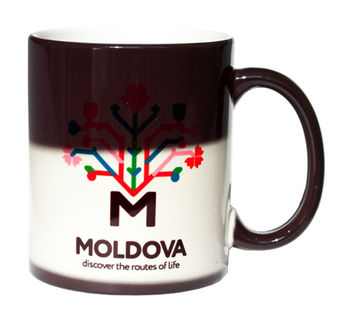купить Магическая кружка – I love Moldova в Кишинёве