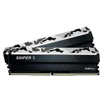 32GB DDR4 Dual-Channel Kit G.SKILL SnipX F4-3200C16D-32GSXFB 32GB (2x16GB) DDR4 PC4-25600 3200MHz CL16, Retail (memorie/память)