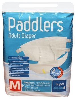 Scutece pentru adulți Paddlers Eco Pack Medium 8buc 85-125sm 40-70kg