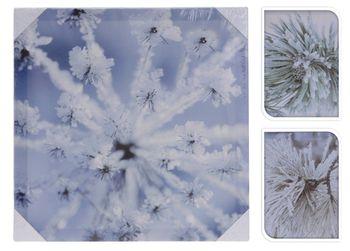 """Картина 39Х39cm, """"Зимний пейзаж"""""""