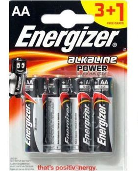 Energizer Power AA E91 BP4