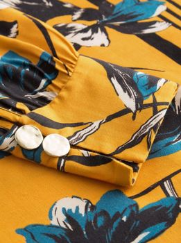 Блуза ORSAY Желтый с принтом 663494 orsay