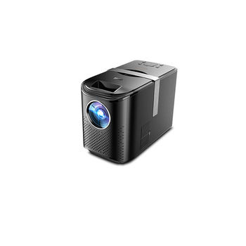 """Проектор ASIO LED AY-4012 Black Projector, Vertical Size, Mirroring, 4"""" LCD TFT, 16:9 & 4:3, 4200 lumens, 2500:1, 1280x720, supp. 1080P, LED Lamp 75W, Lamp Life: 50000 hours, Pict. size: 0.88m - 5m, Speakers 2x3W, HDMI/2xUSB/AV/Audio Out (proiector/Проектор)"""