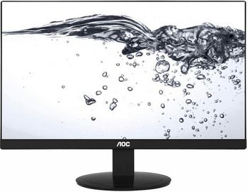"23.8"" AOC IPS LED I2480SX Black Borderless (5ms, 50M:1, 250cd, 1920x1080,178/178, HDMI)"
