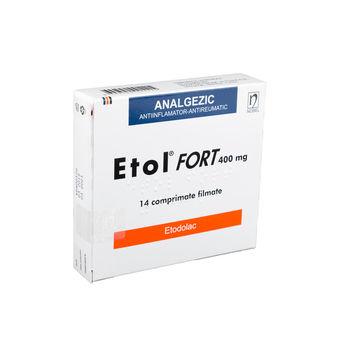 cumpără Etol Fort 400mg comp. film. N14 în Chișinău