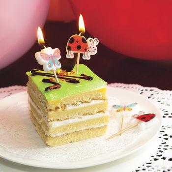 купить Свечи для торта «БАБОЧКИ», 5шт. в Кишинёве