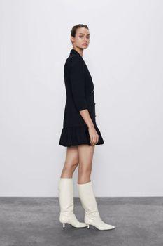 Платье ZARA Чёрный 2409/230/800