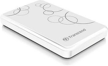 "купить 2.0TB (USB3.0) 2.5"" Transcend ""StoreJet 25A3"", White, Anti-Shock, One Touch Backup в Кишинёве"