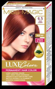 Краска для волос,SOLVEX Miss Magic Luxe Colors, 108 мл., 6.5 - Дикая черешня