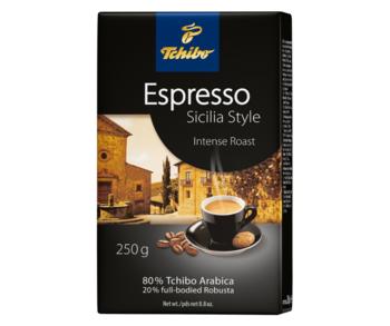 Tchibo Espresso Sicilia Style, молотый кофе, 250г.