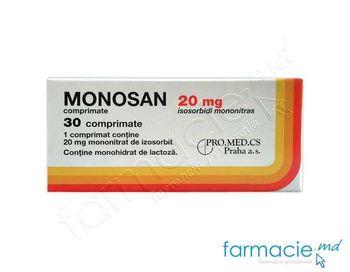 купить Monosan comp. 20 mg N10x3 в Кишинёве