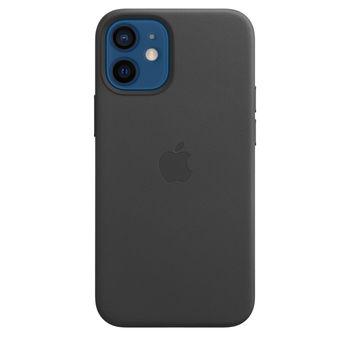 купить Apple Original Leather Case Iphone 12 / iPhone 12 Pro with MagSafe, Black в Кишинёве