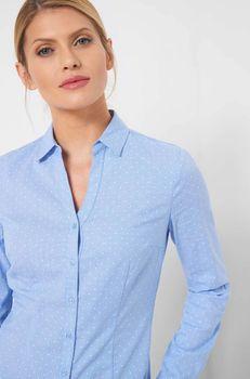 Блуза ORSAY Голубой в горошек orsay 690124