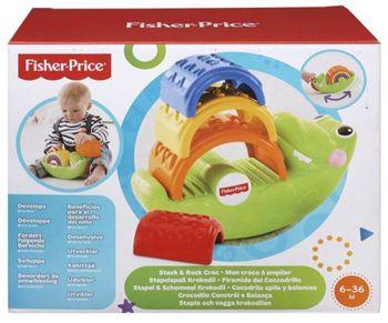 """Веселый крокодил """"Складывай и качай"""" Fisher- Price, код CDC48"""