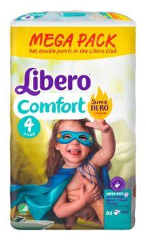 купить Libero подгузники Megapack Comfort 4, 7-11кг 84шт в Кишинёве