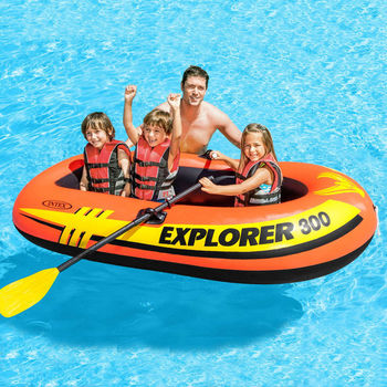 Надувная Лодка EXPLORER 300, 211x117x41cm, 6+