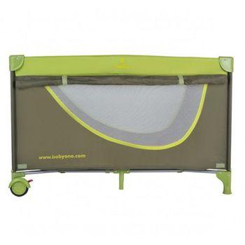 Babyono Туристическая кроватка простая - оливковая