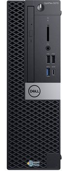 DELL OptiPlex 5070 SFF (lnteI® Core® i7-9700, 8GB DDR4 RAM, 256GB SSD, DVD-RW, lnteI® UHD630 Graphics, TPM, 260W PSU, USB mouse and KB MS116, Ubuntu, Black)