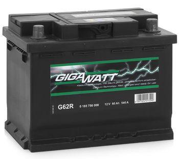 купить GigaWatt 60Ah 540A в Кишинёве