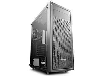 Case Middletower Deepcool E-SHIELD E-ATX/ATX Black no PSU, Side Tempered glass, 1xUSB3.0/2xUSB2.0/AudioHD x 1/Mic x 1, Included: Rear: 1x120mm fan; Optional: Front: 3x120mm or 3x140mm; Top: 2x120mm/140mm (carcasa/корпус)