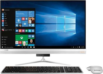 "All-in-One PC - 23"" Lenovo Ideacentre 510S FullHD Touch (F0C3003NRK) Intel® Core® i5-6200U up to 2,8GHz, 8Gb DDR4 RAM, 1TB HDD, External DVD-RW, GT 930A  2GB Graphics, HD Webcam, Wi-Fi-AC/BT4.0, Wireless KB&MS, Win10H, Silver"