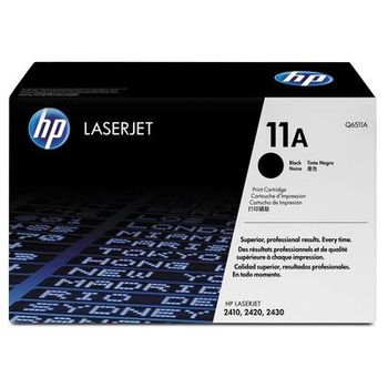 HP Black LaserJet 2400/2410/2420/2420N/2420D/ 2420DN/2430/2430T/2430TN/2430DTN Smart Print Cartridge (6000pages) Q6511A