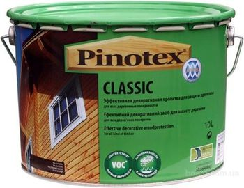 Pinotex Пропитка Pinotex Classic Орех 10л