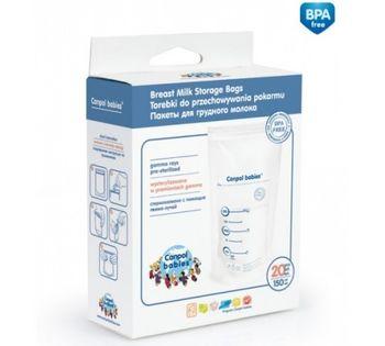 купить Пакеты для ранения грудного молока Canpol Babies (20 шт/150 мл) в Кишинёве