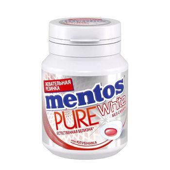 cumpără Mentos Gumă de mestecat Pure White Capsuna 54g în Chișinău