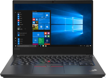 "Lenovo ThinkPad E14 14.0"" FHD IPS AG 250nits (Intel Core i5-10210U, Intel® UHD Graphics, 1x16GB DDR4-2666, 512GB SSD M.2 2242 PCIe NVMe, Intel AX201 11ax +BT5.0, TPM, FPR, Backlit KB, 65W USB-C, Win10Pro, ALL Auminum Black, 1.73kg)"