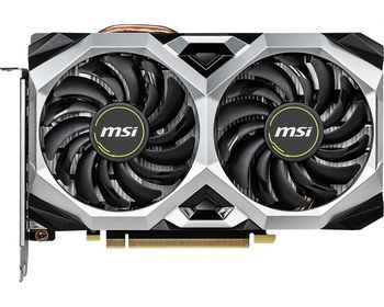 MSI GeForce RTX 2060 VENTUS XS 6G OC /  6GB DDR6 192Bit 1710/14000Mhz, 1x HDMI, 3x DisplayPort, Dual fan - Customized Design, TORX Fan2.0, Gaming App, Retail