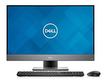 "AIl-in-One PC - 27"" DELL Inspiron 7777 FHD IPS Infinity Touch, Intel® Core® i7-8700T up to 4.0GHz, 16GB DDR4, 256GB+1TB, NVIDIA® GeForce® GTX 1050 4GB, USB-C, Pedestal Stand, FHD IR cam, Wi-Fi-AC/BT4.1, 180W PSU, KM636 Wireless KB&MS, Ubuntu, Black"