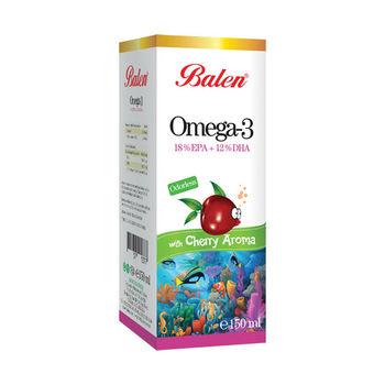 cumpără Balen Omega 3 cu aromă de vișine 150 ml în Chișinău