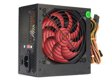 PSU HPC ATX-550W, 12cm red fan, 24 pin (with nylon cover), 1x 8pin(4+4), 1x 6pin, 2x IDE, 3x SATA, black cover, 1.2m EU cable