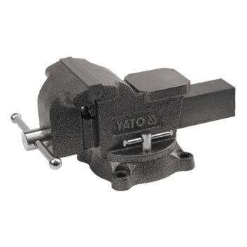 купить Тиски слесарные поворотные 150 мм / 15 кг YT-6503 в Кишинёве