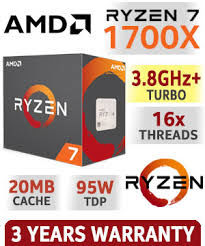 cumpără AMD Ryzen 7 1700X (8C/16T), Socket AM4, 3.4-3.8GHz, 16MB L3, 14nm 95W, BOX (without cooler) în Chișinău