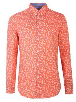Рубашка TOP SECRET Коралловый skl2881