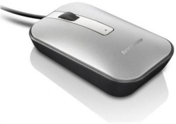 Lenovo M60 Optical Mouse, 1000 dpi, Gray